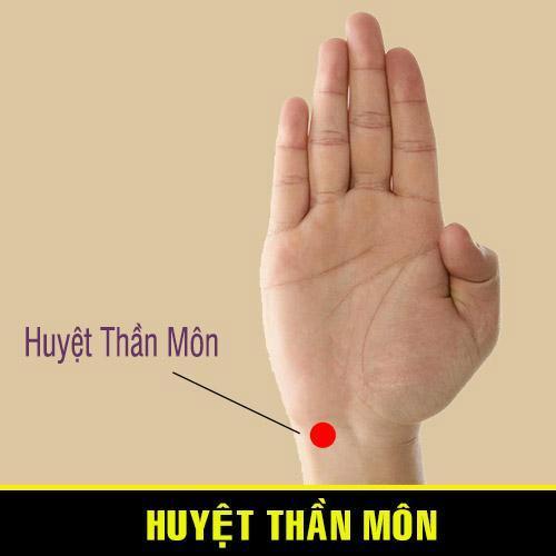 Huyệt Thần Môn